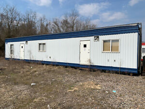 Used 2 Bedroom Mobile Office Site Trailer Atco Skid House