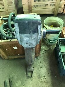 Bosch 0 612 307 002 Electric Jack Hammer 220 Volts 120 Hertz As is