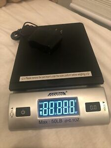 Accuteck 50lbx0 2oz All in one Pt50 Digital Shipping Postal Scale W ac Postage