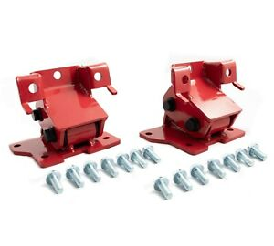 Rudy s Performance Red Motor Mounts For 01 10 Gmc Chevy Lb7 Lly Lbz Lmm Duramax