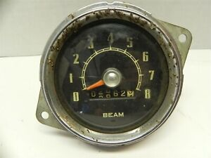 1948 1949 1950 1951 Willy S Willys Jeepster Speedometer Tachometer 2862 Miles