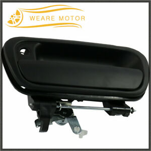 Black Tailgate Handle For 2000 2006 Toyota Tundra Pickup Truck Rear Tail Gate