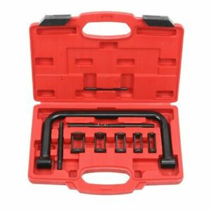 5 Sizes Valve Spring Compressor Pusher Tool Black For Car Motorcycle Us