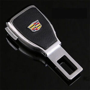 1pc Car Seat Belt Buckle Extension Extender Clip Alarm Stopper Fit For Cadillac