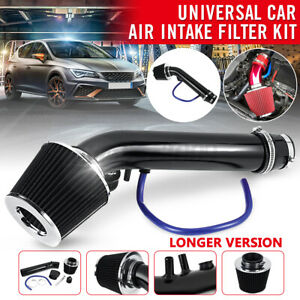 3 Car Cold Air Intake Filter Induction Kit Pipe Hose System Alumimum Universal