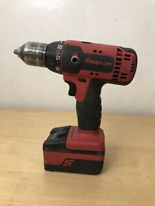 Snap On Cordless Drill Cdr8815 With Battery