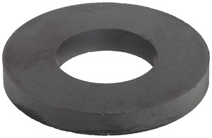 2 Pack Ceramic Ring Magnets 1 75 X 0 875 X 0 25 Heavy Duty Free Fast Shhiping