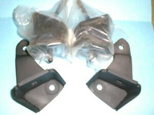 Vw Type 2 Bus 1972 1979 Rear Engine Mount Brackets With 2 New Rubber Mounts