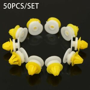 50pcs Door Wheel Arch Clips Parts For Land Rover Discovery 3 4 Range Rover Sport