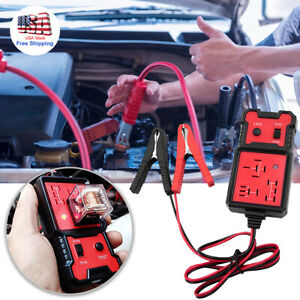 12v Electronic Automotive Relay Tester Kit Car Checker Battery Diagnostic Tools
