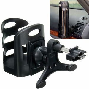 Car Drink Cup Holder Air Vent Clip On Mount Water Bottle Stand Tool Accessories