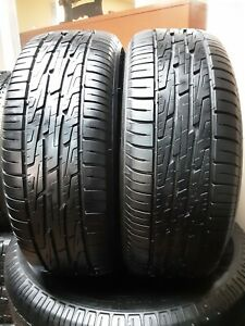 Set Of 2 235 60 16 Kelly Charger Gt 8 32nds High Tread