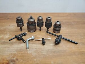 Jacobs rohm Chuck Lot Of 5 Used