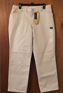 LEE ALL DAY PANT Women's Pants Straight Leg Relaxed Fit Sz 14 NWT. $35.00