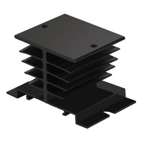 Aluminum Heat Sink Ssr Dissipation For Single Phase Solid State Relay 10a 40a