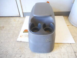 97 03 Ford F150 Pickup Truck Oem Center Floor Console With Cup Holder Lid