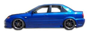 Duraflex B 2 Side Skirts Body Kit For 99 03 Mazda Protege
