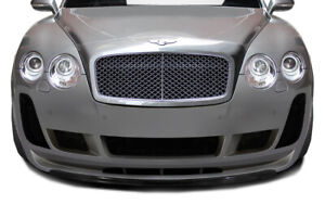 Aero Function cfp Af 2 Front Lip Body Kit For 03 10 Bentley Continental Gt