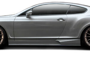 Aero Function gfk Af 2 Side Skirts Body Kit For 03 10 Bentley Continental Gt