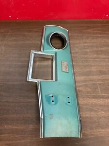 Original 1966 1967 Chevelle 4 Speed Console Top Plate W Boot Retainer 321
