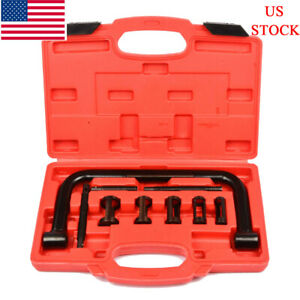 5 Sizes Valve Spring Compressor Pusher Automotive Tool For Car Motorcycle Kit Us