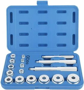 17pcs Bearing Race Seal Driver Master Tool Set Wheel Axle Bushing Installer New
