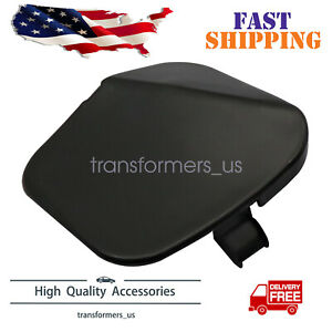 New Front Bumper Tow Eye Bracket Hook Cover Cap Fits For 2016 2018 Nissan Altima