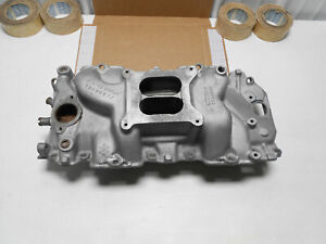 1968 1969 Chevy 396 427 Orig Aluminum Intake Manifold Gm 3933163 Dated 12 20 67