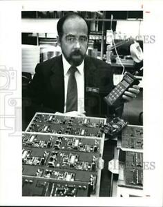 1969 Press Photo Terry Gambil Is The Owner Of Tegam Inc At Madison Ohio