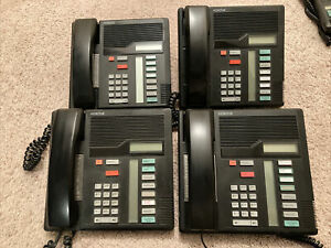 Lot Of Four Meridian Nortel Norstar M7208 Phone System