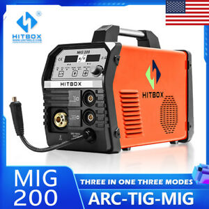 4in1 Mig Welding Machine Inverter 220v Gas Gasless Stick Arc Lift Tig Mig Welder