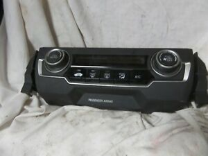 16 20 Honda Civic Temperature Climate Control Temp Ac Heat Dash 79600tbaa112