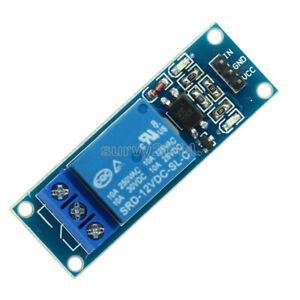 12v One 1 Channel Relay Module Optocouple Board Shield For Pic Avr Arduino New