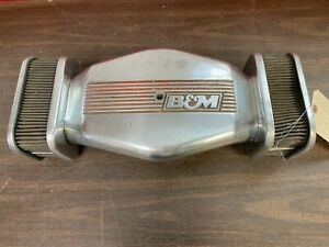 Vintage 1950 S 1960 S B M Low Profile Dual Side Air Cleaner Hot Rat Rod 321