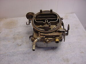 Holley Carburetor 70s Chrysler Dodge Charger 360 Truck 400 V8 Plymouth Fury