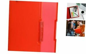 3517 j101 Slimcase 2 Storage Clipboard With Side Opening Strawberry Red