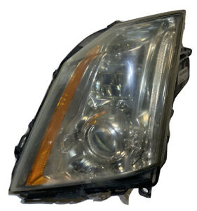 2008 2014 Cadillac Cts Left Driver Side Hid Xenon Headlight Headlamp Oem Read