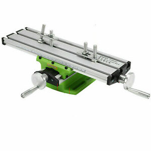 2axis Milling Machine Compound Work Table Cross Sliding Bench Drill Vise