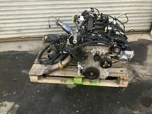 15 17 Ford Mustang Complete Engine 2 3l Turbo W Automatic Transmission As Is P
