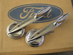 Nos Oem Ford 1959 1962 Mercury Inside Door Handles 1960 1961 Verify App Monterey
