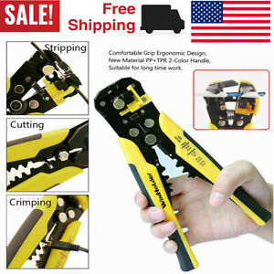 Automatic Insulation Wire Stripper Cutter Crimper Cable Stripping Tool Winholder