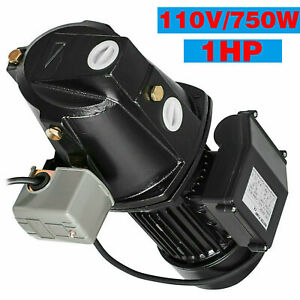 1 Hp Shallow Well Jet Pump W Pressure Switch 17 5 Gpm Booster Water 3420 Rpm