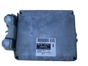 2004 04 Toyota Land Cruiser Engine Ecm Ecu Computer 89661 60a00