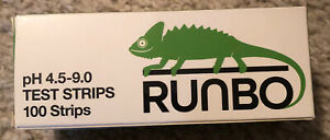 New Runbo Ph 4 5 9 0 Test Strips 100 Strips Free Shipping