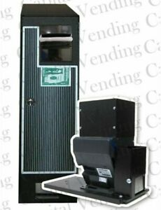 Compact Changer Hopper Coin Machine W New Ict L70 Bill Acceptor Accepts 1 20