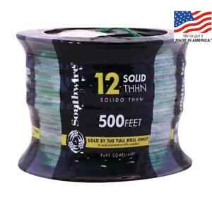 12 Gauge Solid Httn 500 Ft
