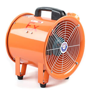 10 Industrial Extractor Fan Blower Portable Ducting Fume Ventilation Air Mover