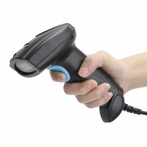 12d Automatic Wired Barcode Scanner 3 in 1 Handheld Usb Qr Reader Gb
