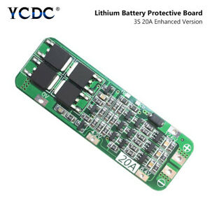 3s 20a 12 6v Drill Motor 18650 Charger Li ion Battery Pcb Protection Board Bms