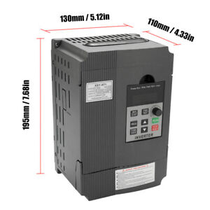 Universal Vfd Frequency Speed Controller 2 2kw 12a 220 V Ac Motor Drive I4d1